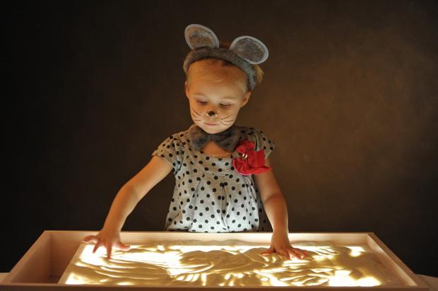 песочное шоу на детский день рождения заказать