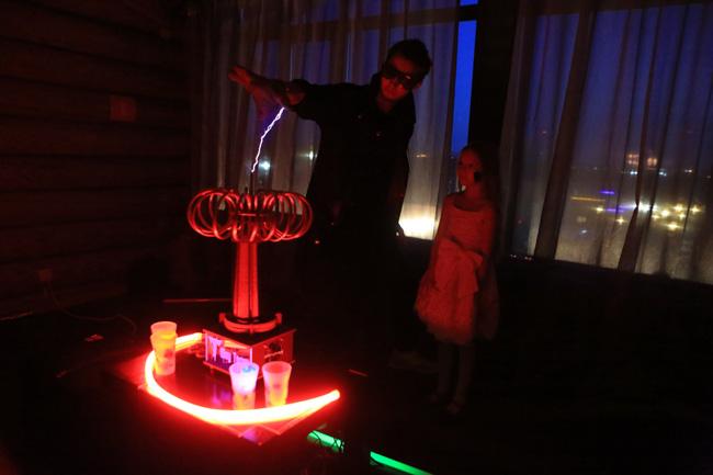 тесла-шоу заказать на детский день рождения